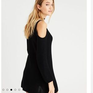 7780735a285 American Eagle Outfitters Dresses - AE Ahh-mazingly soft cold shoulder sweater  dress